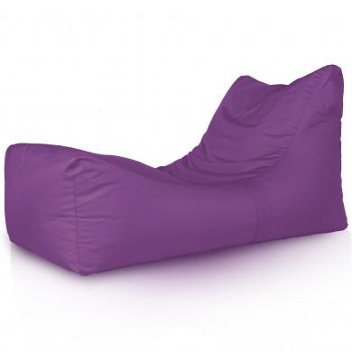 Lounge Sessel Outdoor Violett Groß
