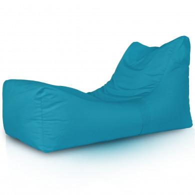 Lounge Sessel Outdoor Blau Gartenmöbel