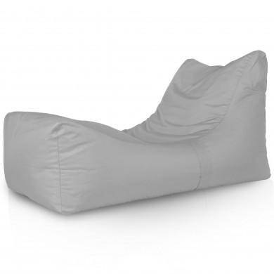 Lounge Sessel Outdoor Hellgrau Modern
