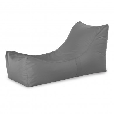 Lounge Sessel Outdoor Grau Relaxsessel
