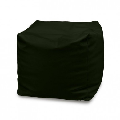 Dekokissen Schwarz Plüsch Kissen