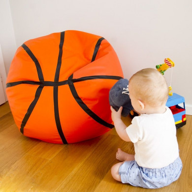 Kindersitzsack Basketball