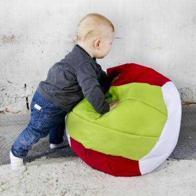 Sitzsack tricolore kinder