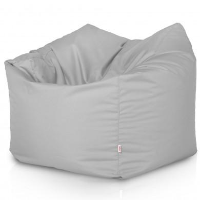 Weiß Sitzsack XL Kunstleder Wohnzimmer