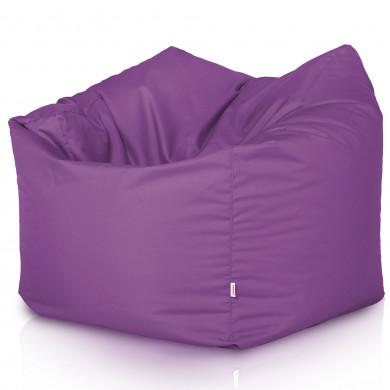 Fleischfarben Sitzsack XL Kunstleder