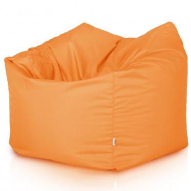 Grau Sitzsack XL Kunstleder Wohnzimmer