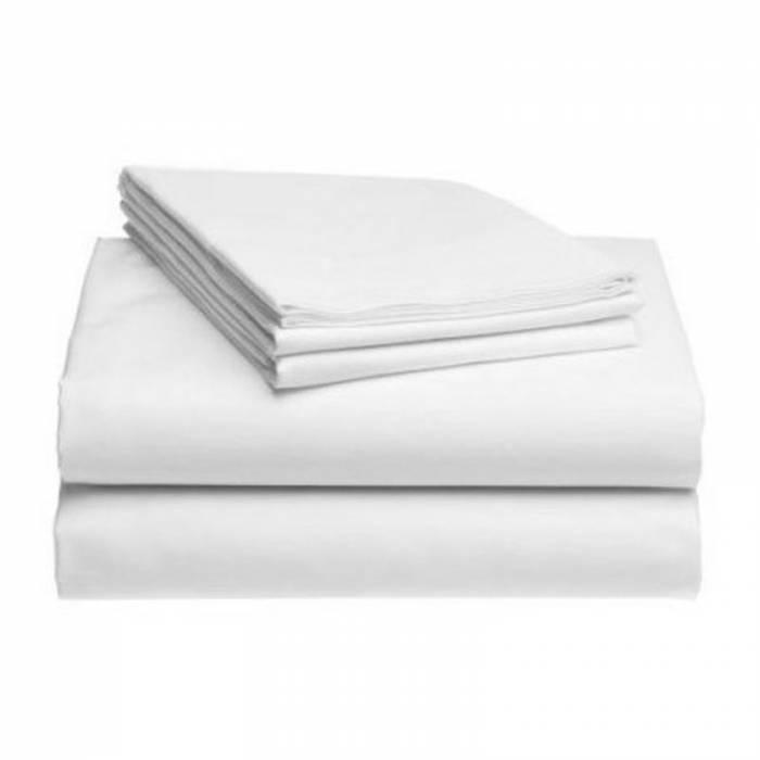 Bettlaken aus Baumwolle ohne Gummiband 240x220 cM