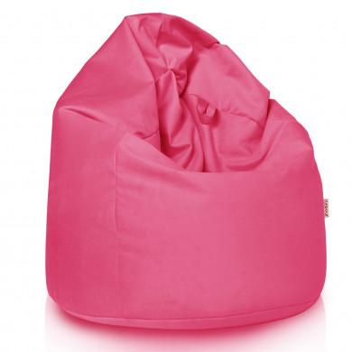 Rosa Sitzsack XL Plüsch Mädchen