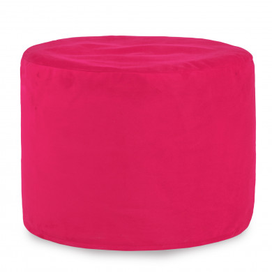 Rosa Sitzwürfel Plüsch Mädchen Cilindro