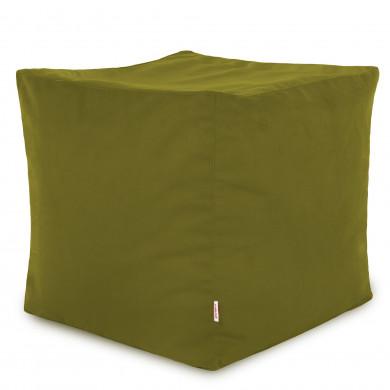 Grüner Apfel Sitzhocker Plüsch Cubo